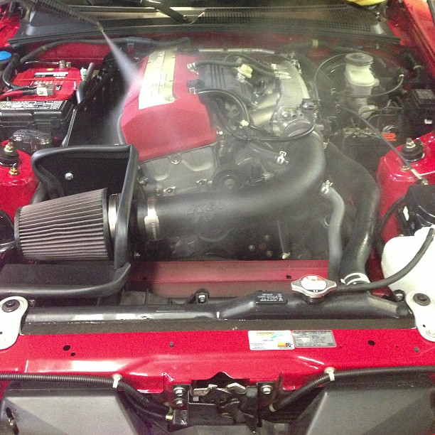 Honda S2000 Engine Compartment Detail